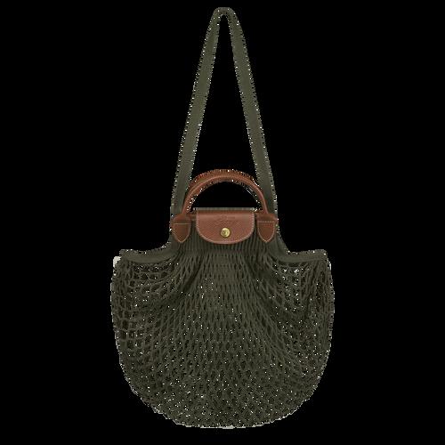 Sac porté main Le Pliage filet Kaki (10121HVH292) | Longchamp FR