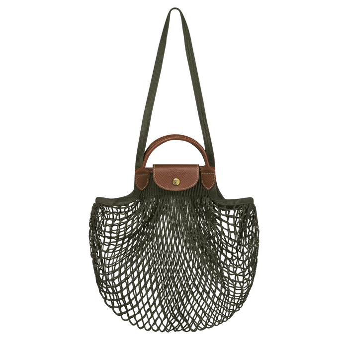 Le Pliage filet Top handle bag, Khaki