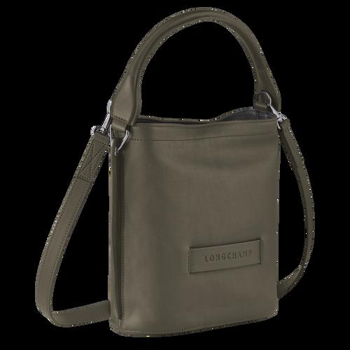 Longchamp 3D Crossbody bag, Khaki