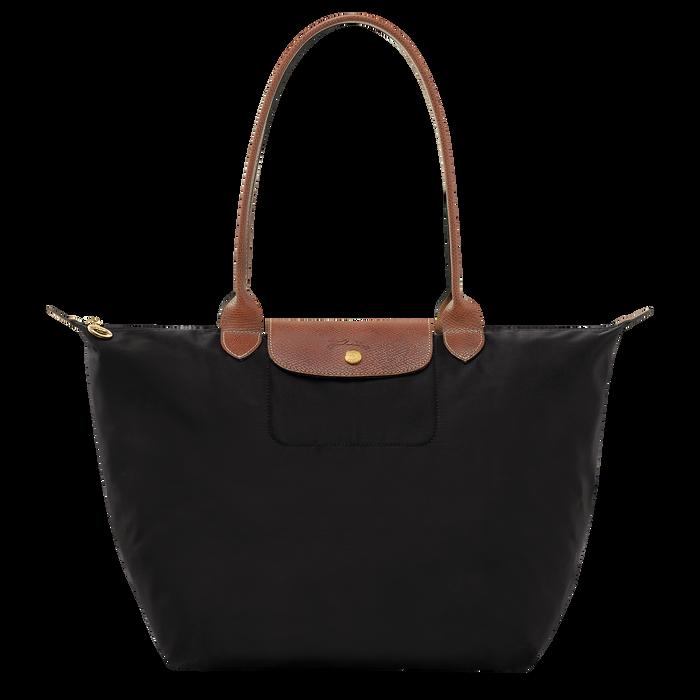Sac porté épaule L Le Pliage Original Noir (L1899089001) | Longchamp FR