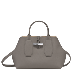 Top handle bag M, Turtledove