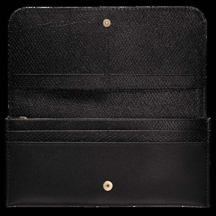 꺄발꺄드 버튼 장지갑, 블랙