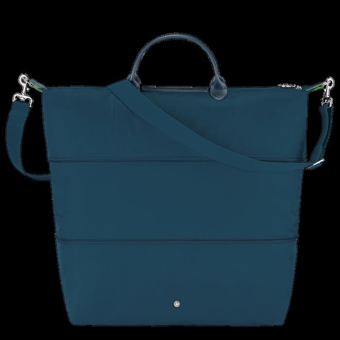 Le Pliage Green Erweiterbare Reisetasche, Ozeanblau