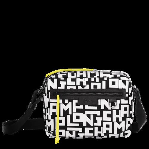Crossbody bag M, Black/White, hi-res - View 1 of 4