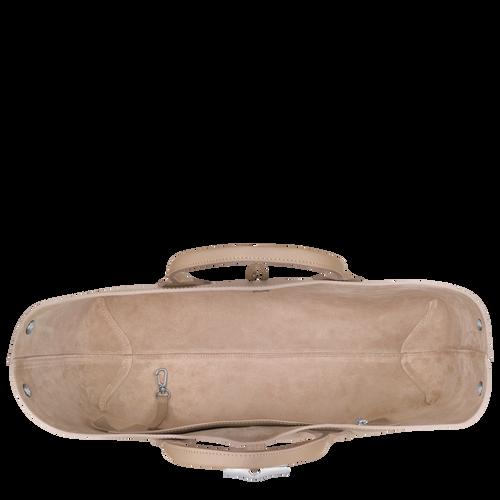 View 5 of Top handle bag L, Sand, hi-res