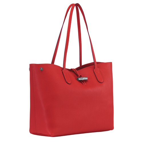 Essential Shoulder bag L, Red, hi-res - View 2 of 3