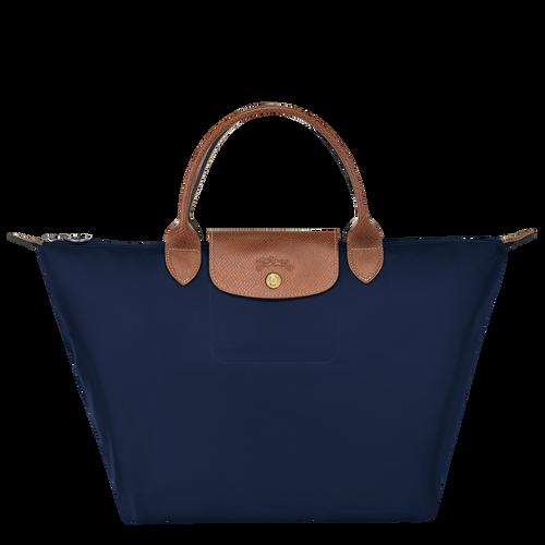 Top handle bag M Le Pliage Original Navy (L1623089556) | Longchamp US