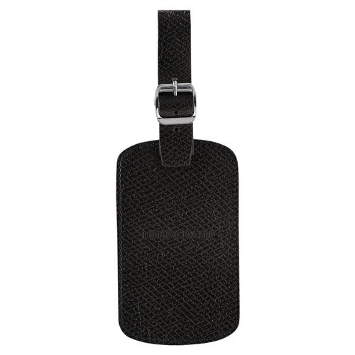 Luggage tag, 001 Black, hi-res
