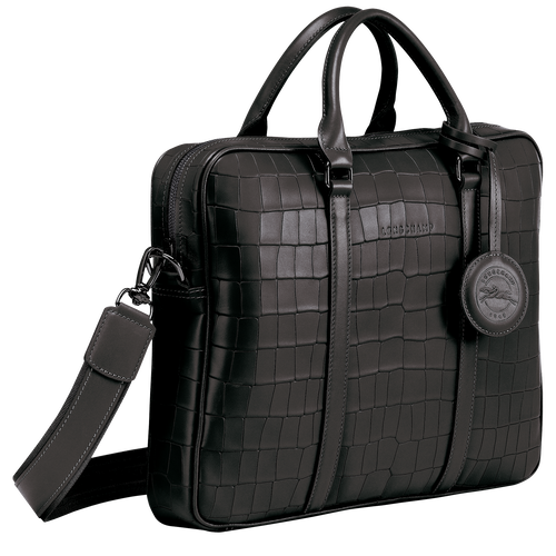 Briefcase XS, Black, hi-res - View 2 of 3