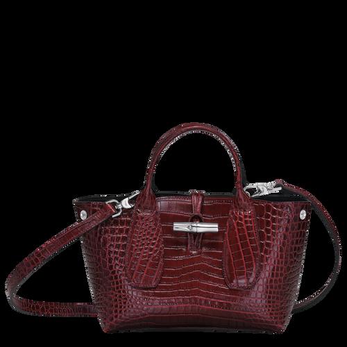 Top handle bag S, Burgundy - View 2 of 4 -
