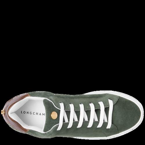 Sneakers, Vert Longchamp - Vue 4 de 5 -