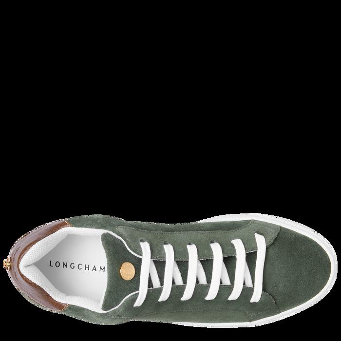 Sneakers, Vert Longchamp - Vue 4 de 5 - agrandir le zoom