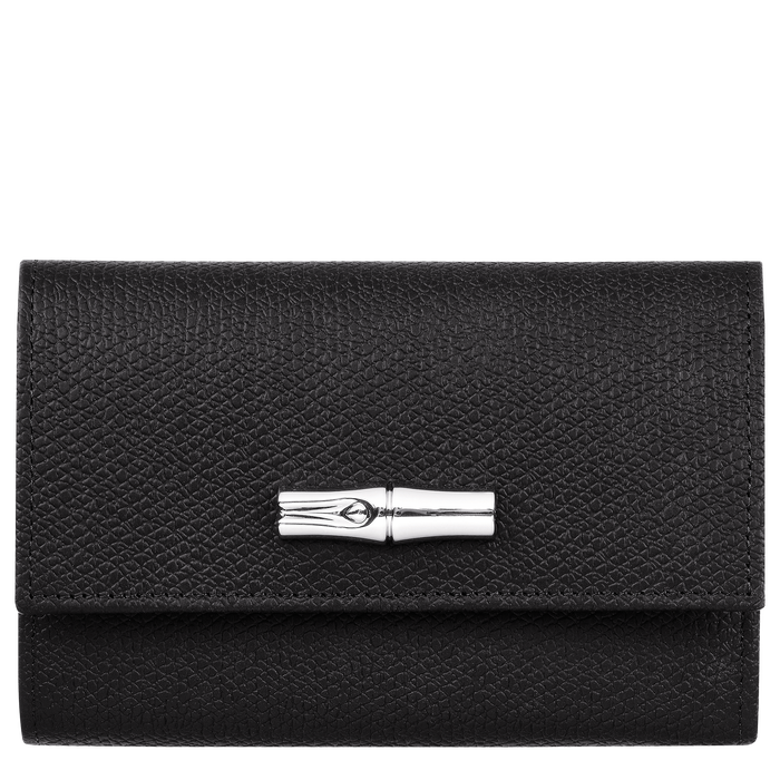 Compact wallet, Black/Ebony - View 1 of  2 - zoom in