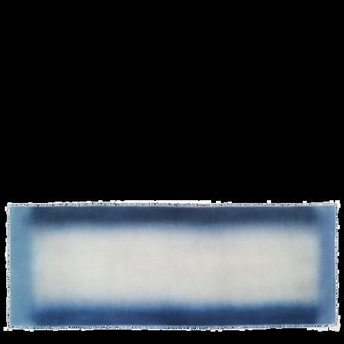 Herrenschal, Blau, hi-res - View 1 of 1