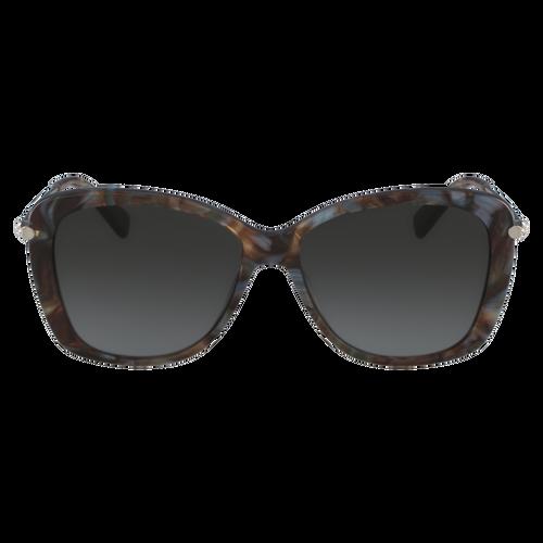 Sonnenbrillen, Marble Brown Azure - Ansicht 1 von 2 -