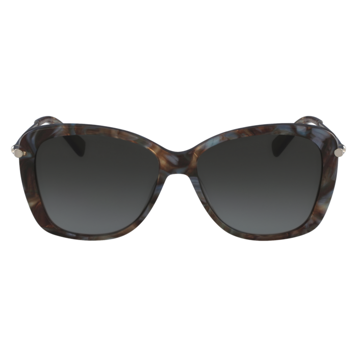 Sunglasses, Marble Brown Azure - View 1 of  2 - zoom in