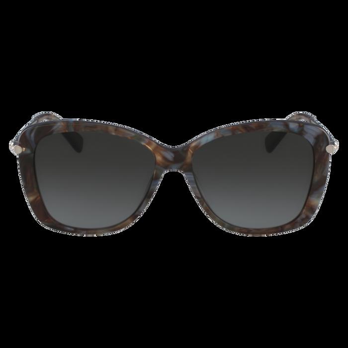 Sonnenbrillen, Marble Brown Azure - Ansicht 1 von 2 - Zoom vergrößern