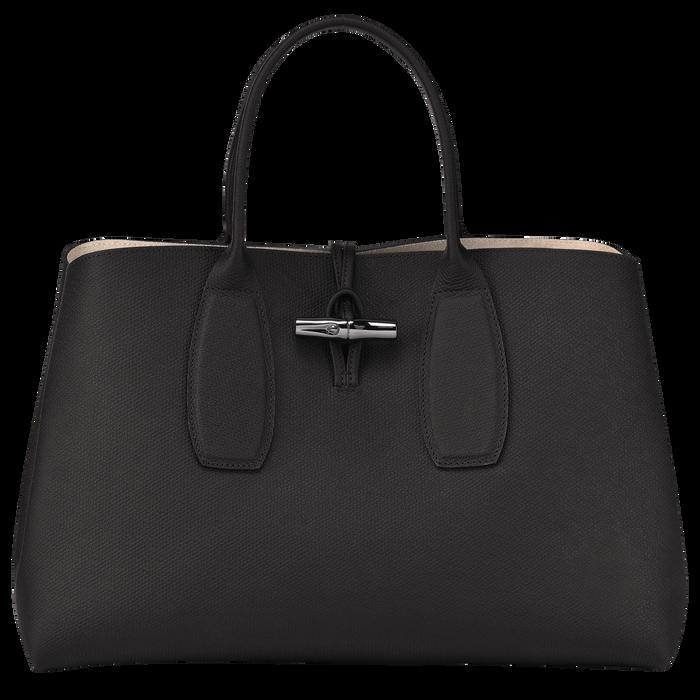 Top handle bag L, Black, hi-res - View 1 of 5