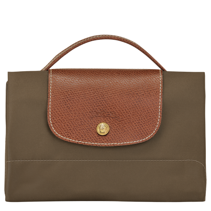 Briefcase S, Khaki - View 4 of  4 - zoom in