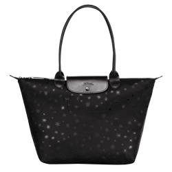Tote bag L, Black, hi-res