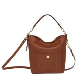 Small bucket bag, Cognac, hi-res