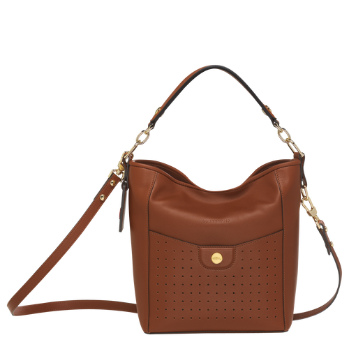 Small bucket bag, Cognac, hi-res - View 1 of 3