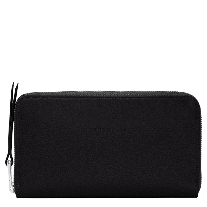 Long zip around wallet, Black - View 1 of  2 - zoom in