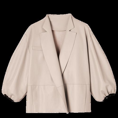 和服風格短身外套, 淡粉色, hi-res - View 2 of 2