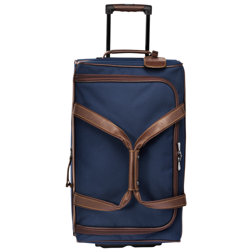Wheeled duffle bag, Blue, hi-res - View 1 of 3