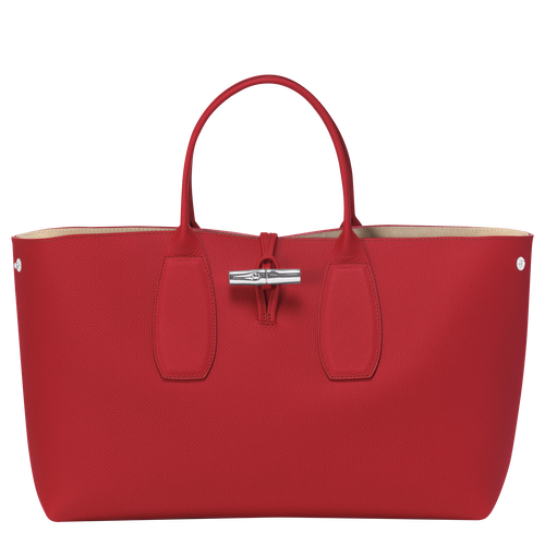 Top handle bag L, Red - View 2 of  5 -