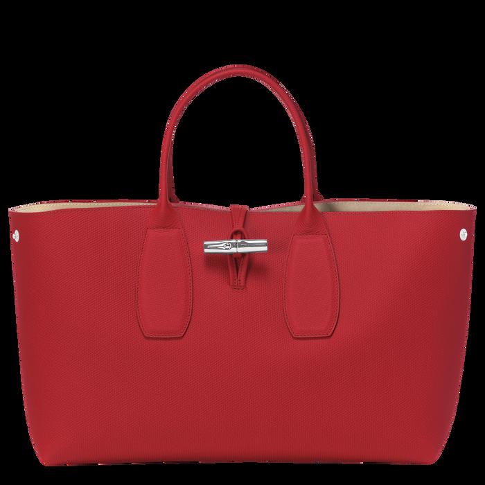 Top handle bag L, Red, hi-res - View 2 of 5