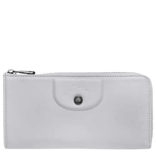 Long zip around wallet, Grey, hi-res - View 1 of 2