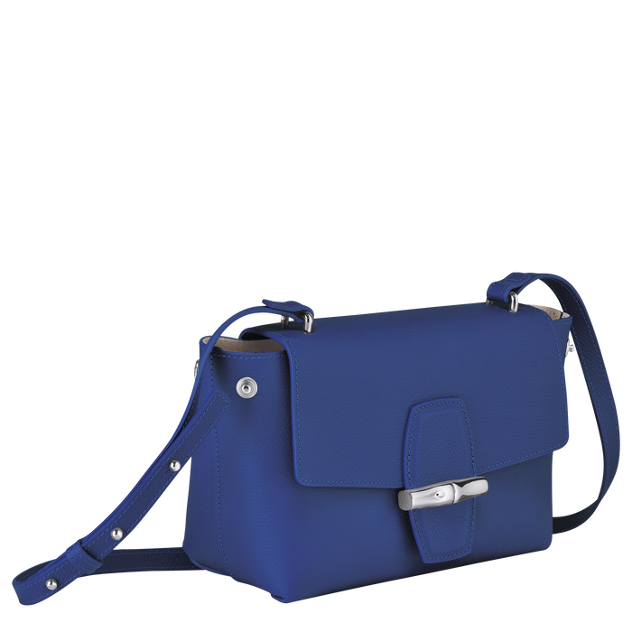 Crossbody bag, Blue - View 3 of  4 - zoom in