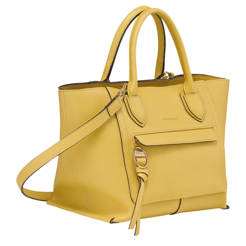 Top handle bag M, Yellow - View 2 of 3 -