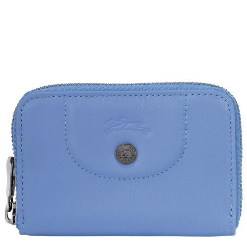 Coin purse, Blue, hi-res - View 1 of 2