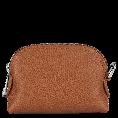 Coin purse Le Foulonné Caramel (L3686021F72) | Longchamp AU