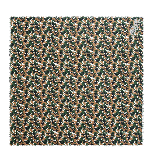 Vue 1 de Châle, Vert, hi-res