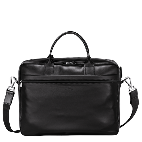 Briefcase L, Black/Ebony - View 3 of 3 -