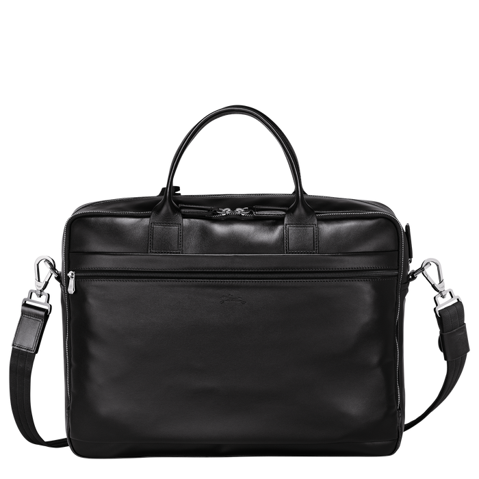 Briefcase L, Black/Ebony - View 3 of 3 - zoom in