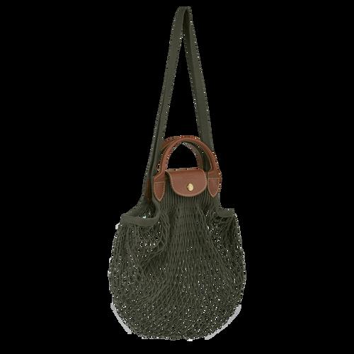 Top handle bag, Khaki - View 2 of 3 -