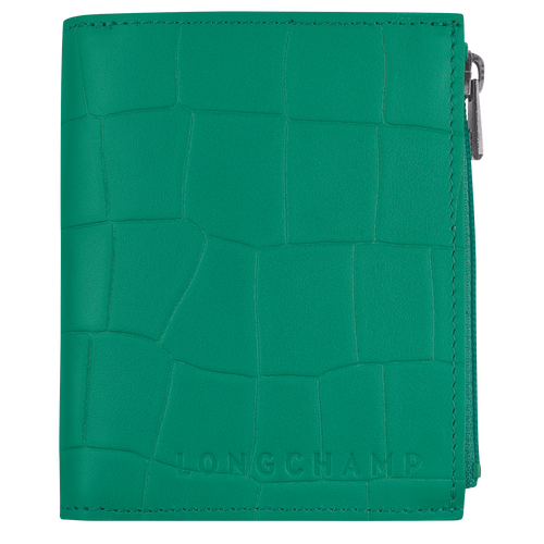 Croco Block Portefeuille compact, Green