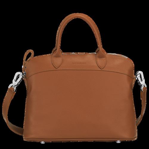 Top handle bag M Le Foulonné Caramel (10093021F72) | Longchamp US