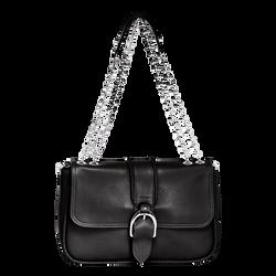 Shoulder Bag M, 001 Black, hi-res