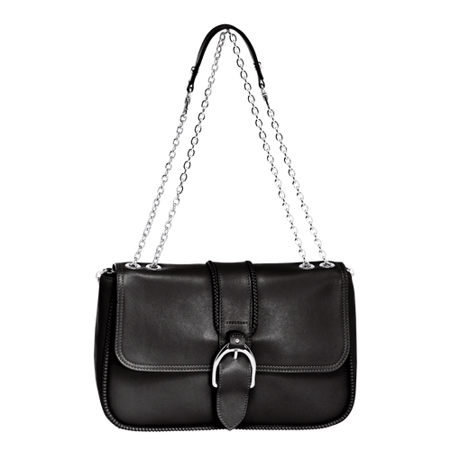 Shoulder Bag M, 001 Black, hi-res
