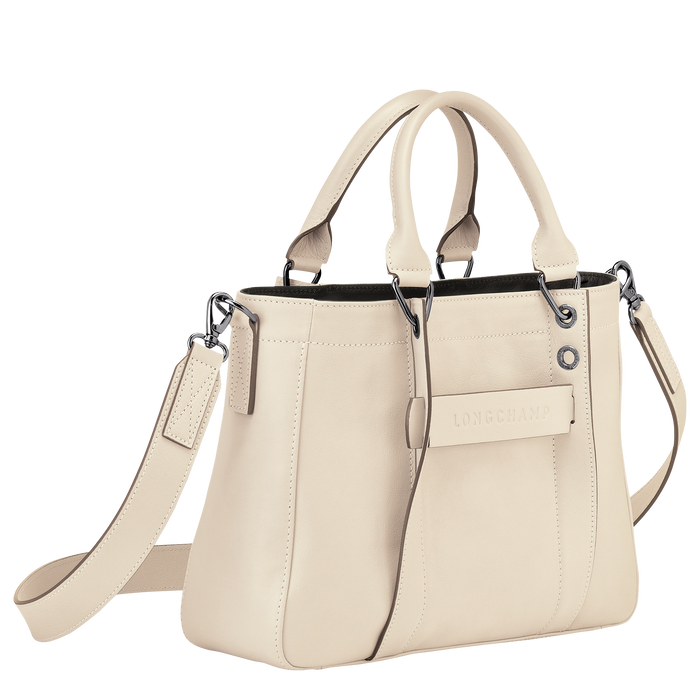 Top handle bag S, Ivory - View 2 of 3 - zoom in