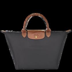 Top handle bag M, Gun metal