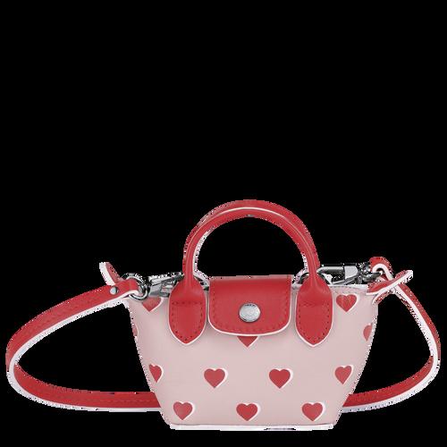 Crossbody bag XS Le Pliage Cuir Pinky (10099HUPA26) | Longchamp AU