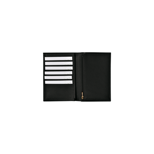 View 3 of Small wallet, Black, hi-res