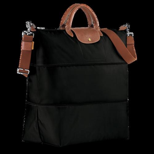 View 2 of Travel bag, Black, hi-res
