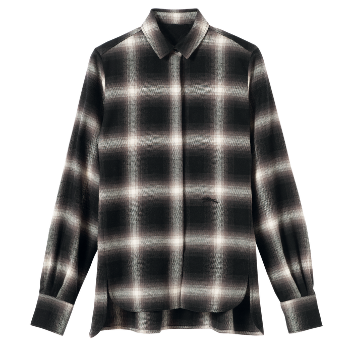 Fall-Winter 2021 Collection Shirt, Black